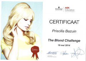 The Blond Challenge
