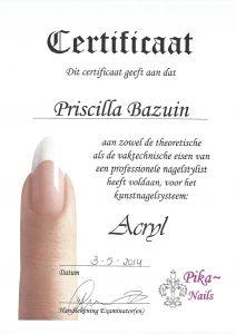 Acrylnagels - Pika Nails